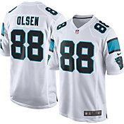Nike Men's Away Game Jersey Carolina Panthers Greg Olsen #88