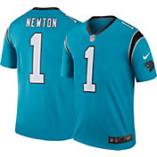 Nike Men's Color Rush Carolina Panthers Cam Newton #1 Legend Jersey Shirt