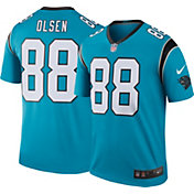 Nike Men's Color Rush Carolina Panthers Greg Olsen #88 Legend Jersey Shirt