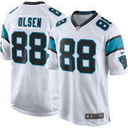 Nike Men's Away Game Jersey Carolina Panthers Greg Olsen #88