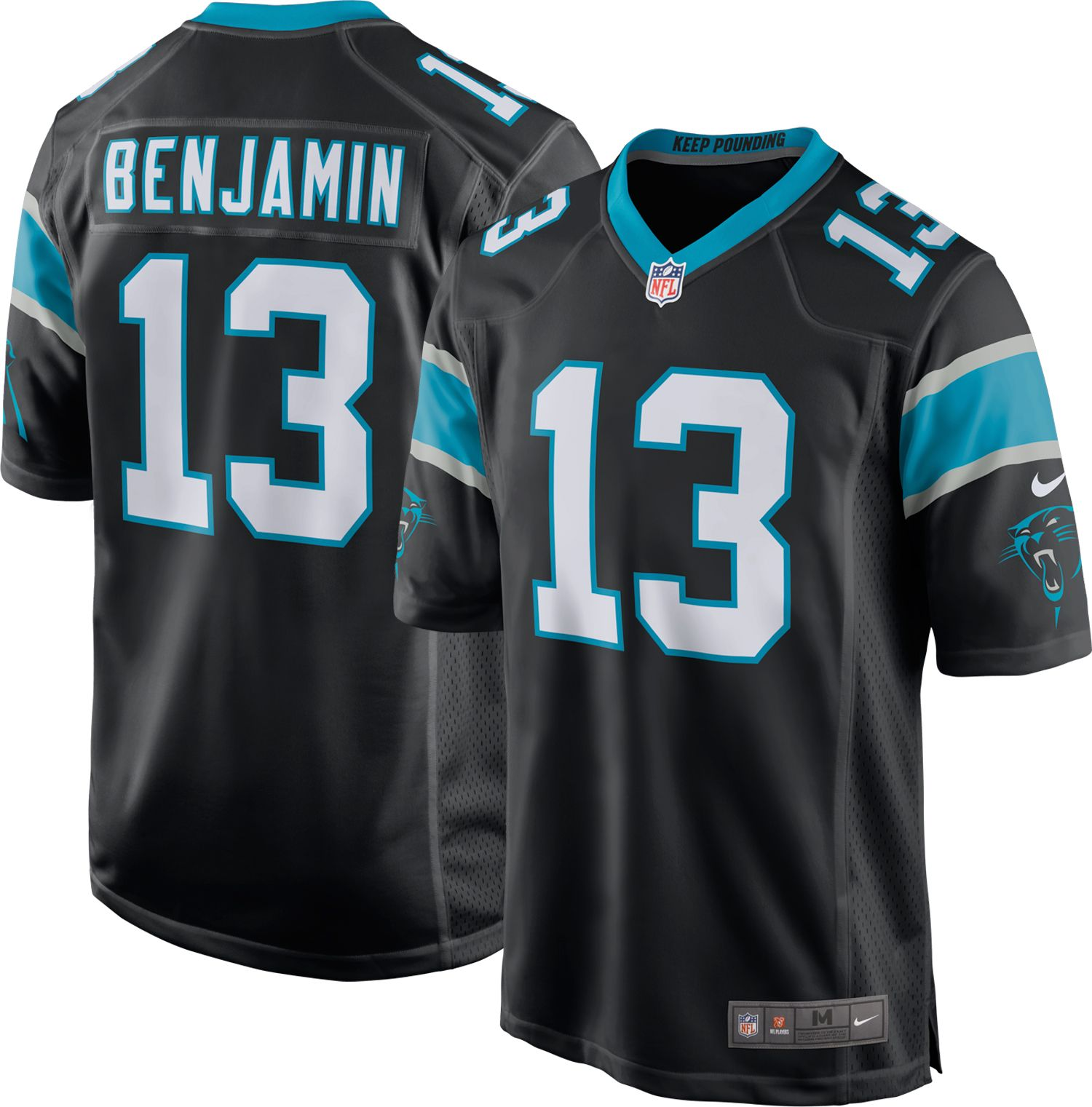carolina panthers kelvin benjamin jersey