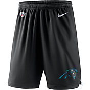 Nike Men's Carolina Panthers Dry Knit Black Performance Shorts