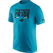 Nike Men's Carolina Panthers Local Verbiage Blue T-Shirt