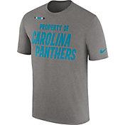 Nike Men's Carolina Panthers Property Of Grey T-Shirt