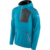 Nike Men's Carolina Panthers Sideline 2016 Alpha Fly Rush Blue Jacket