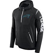 Nike Men's Carolina Panthers Sideline 2017 Alpha Fly Black Jacket