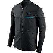 Nike Men's Carolina Panthers Sideline 2017 Shield Hybrid Black Jacket