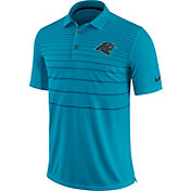 Nike Men's Carolina Panthers Sideline 2017 Early Season Blue Polo