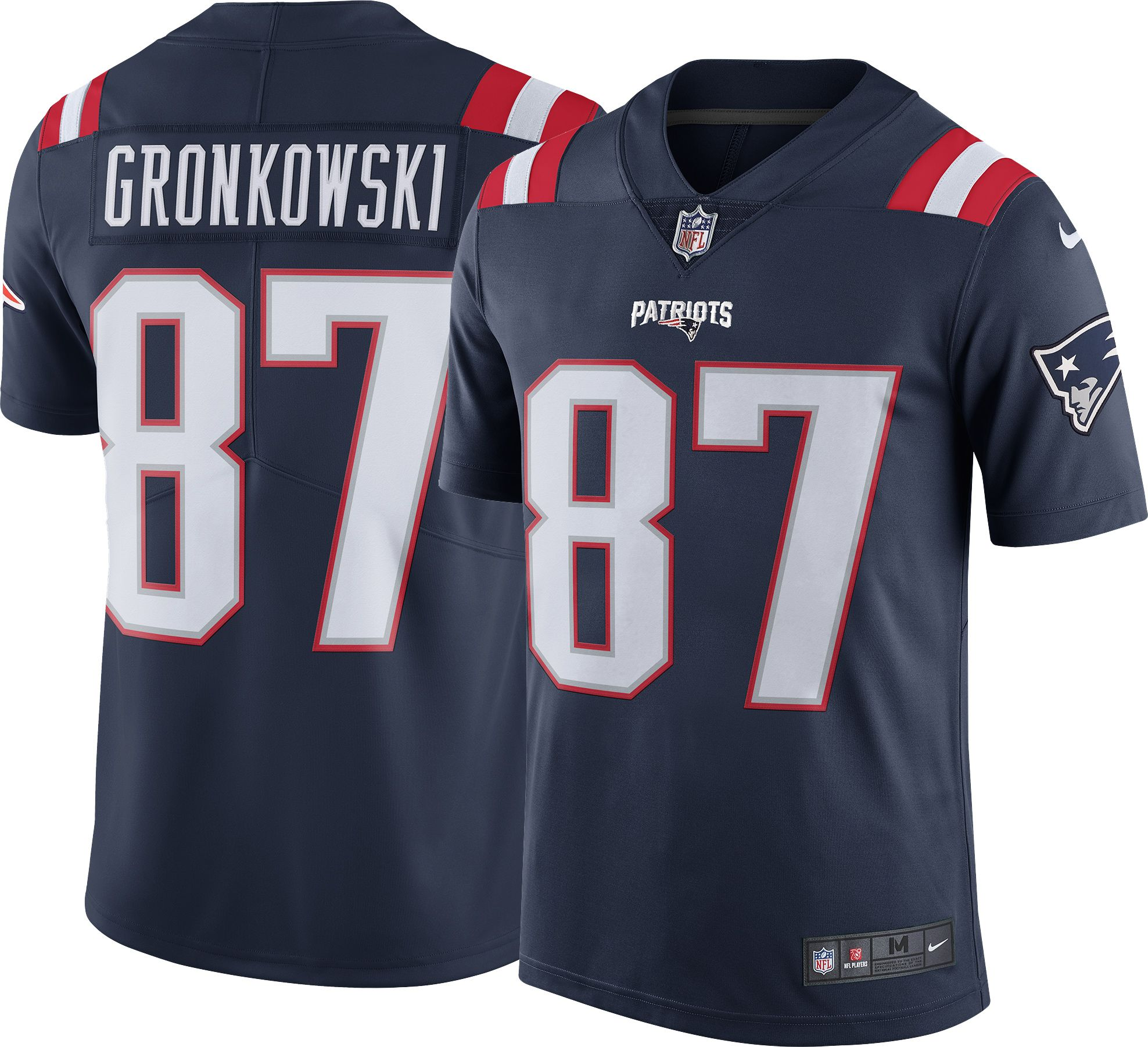 3b94e827e63 Nike Mens Color Rush Limited Jersey New England Patriots Rob Gronkowski 87.  000.