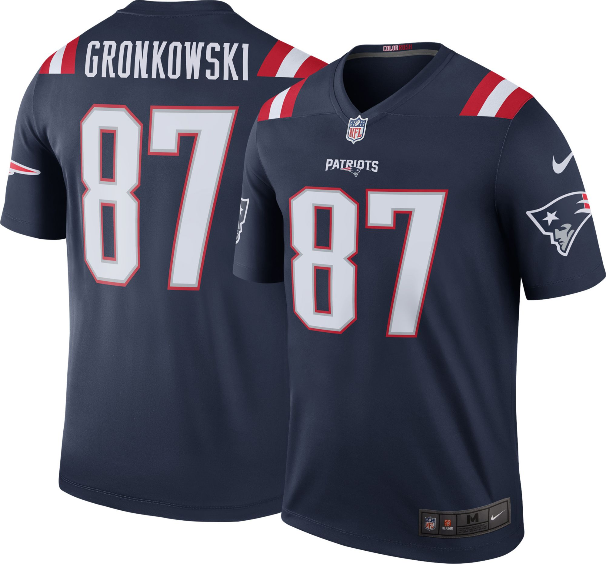 rob gronkowski jersey signed