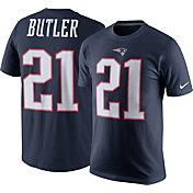 Nike Men's New England Patriots Malcolm Butler #21 Pride Navy T-Shirt