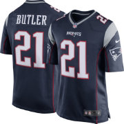 Nike Men's Home Game Jersey New England Patriots Malcolm Butler #21