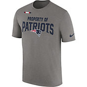 Nike Men's New England Patriots Property Of Grey T-Shirt