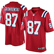 Nike Men's Alternate Limited Jersey New England Patriots Rob Gronkowski #87