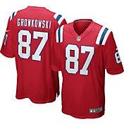 Nike Men's Alternate Game Jersey New England Patriots Rob Gronkowski #87
