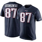 Nike Men's New England Patriots Rob Gronkowski #87 Pride Navy T-Shirt