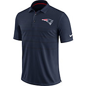 Nike Men's New England Patriots Sideline 2017 Early Season Navy Polo