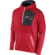 Nike Men's New England Patriots Sideline 2016 Vapor Speed Fly Rush Red Jacket
