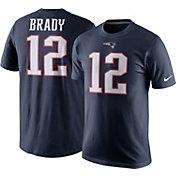 Nike Men's New England Patriots Tom Brady #12 Pride Navy T-Shirt