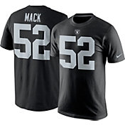 Nike Men's Oakland Raiders Khalil Mack #52 Pride Black T-Shirt