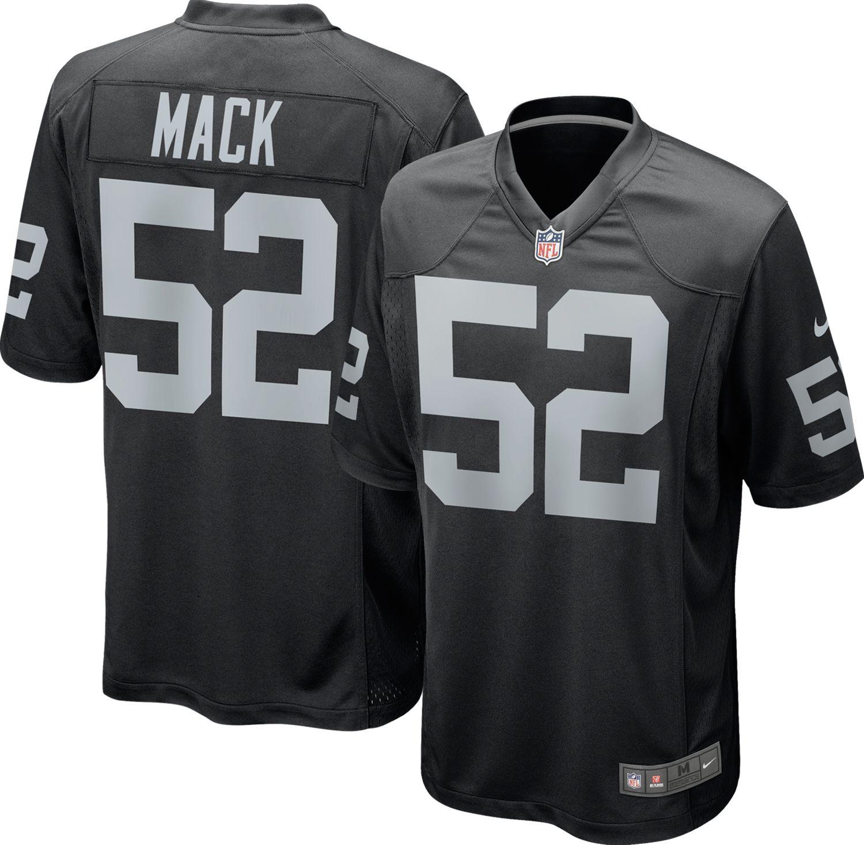 afed231fb2f Nike.com Nike Mens Home Game Jersey Oakland Raiders Khalil Mack DICK Khalil  Mack Oakland Raiders Nike Limited Jersey - Black NFL ...