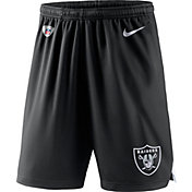 Nike Men's Oakland Raiders Dry Knit Black Performance Shorts