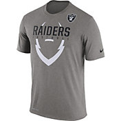 Nike Men's Oakland Raiders Legend Icon Grey T-Shirt