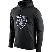 Nike Men's Oakland Raiders Performance Circuit Logo Essential Black Hoodie