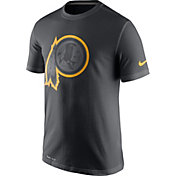 Nike Men's Washington Redskins Travel Reflective Anthracite T-Shirt