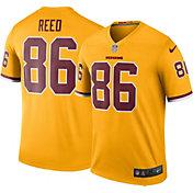 Nike Men's Color Rush 2016 Washington Redskins Jordan Reed #86 Legend Game Jersey