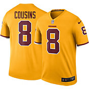 Nike Men's Color Rush Washington Redskins Kirk Cousins #8 Legend Jersey