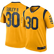 Nike Men's Color Rush 2016 Los Angeles Rams Todd Gurley #30 Legend Game Jersey