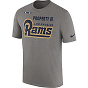 Nike Men's Los Angeles Rams Property Of Grey T-Shirt