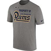 Nike Men's Los Angeles Rams Property Of Grey T-Shirt