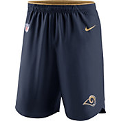 Nike Men's Los Angeles Rams Sideline 2017 Vapor Navy Shorts