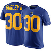 Nike Men's Los Angeles Rams Todd Gurley #30 Pride Royal T-Shirt