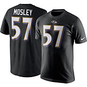 Nike Men's Baltimore Ravens C.J. Mosley #57 Pride Black T-Shirt