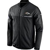 Nike Men's Baltimore Ravens Sideline 2016 Elite Hybrid Black Jacket