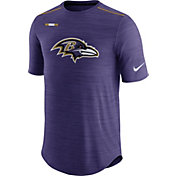 Nike Men's Baltimore Ravens Sideline 2017 Player Purple Top