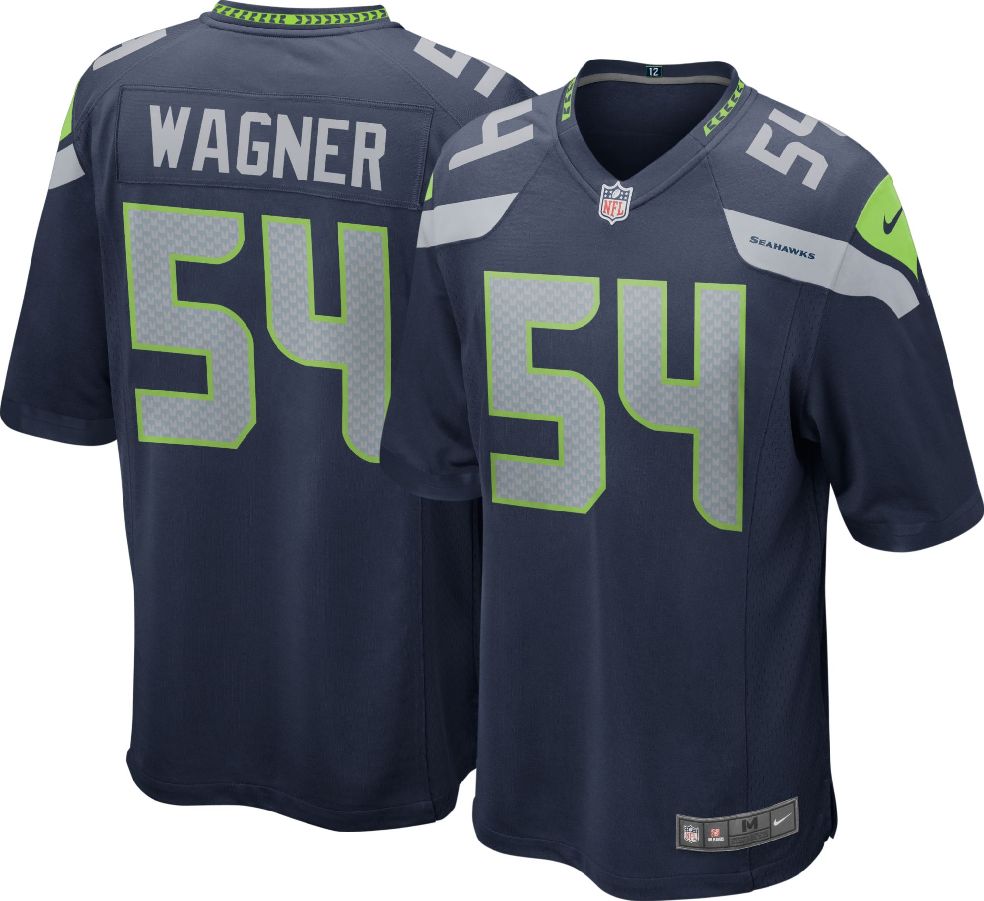 nike mens home game jersey seattle seahawks bobby wagner 54