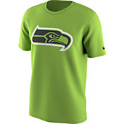 Nike Men's Seattle Seahawks Team Travel Green T-Shirt