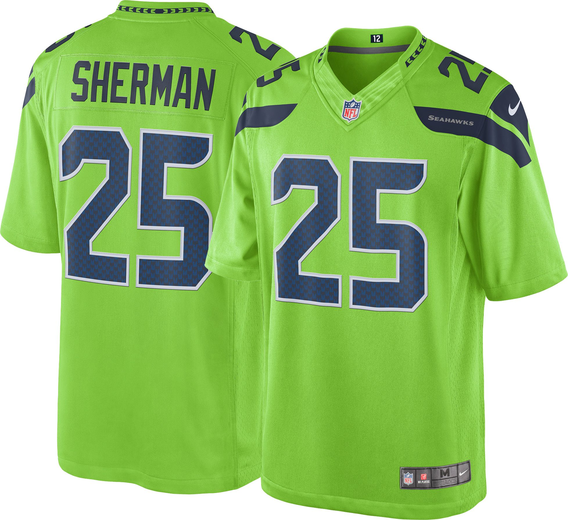 2a0ca5277 ... Nike Mens Color Rush 2016 Limited Jersey Seattle Seahawks Ri Mens  Seattle Seahawks Richard Sherman ...