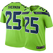 Nike Men's Color Rush Seattle Seahawks Richard Sherman #25 Legend Jersey Shirt
