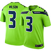 Nike Men's Color Rush Seattle Seahawks Russell Wilson #3 Legend Jersey Shirt