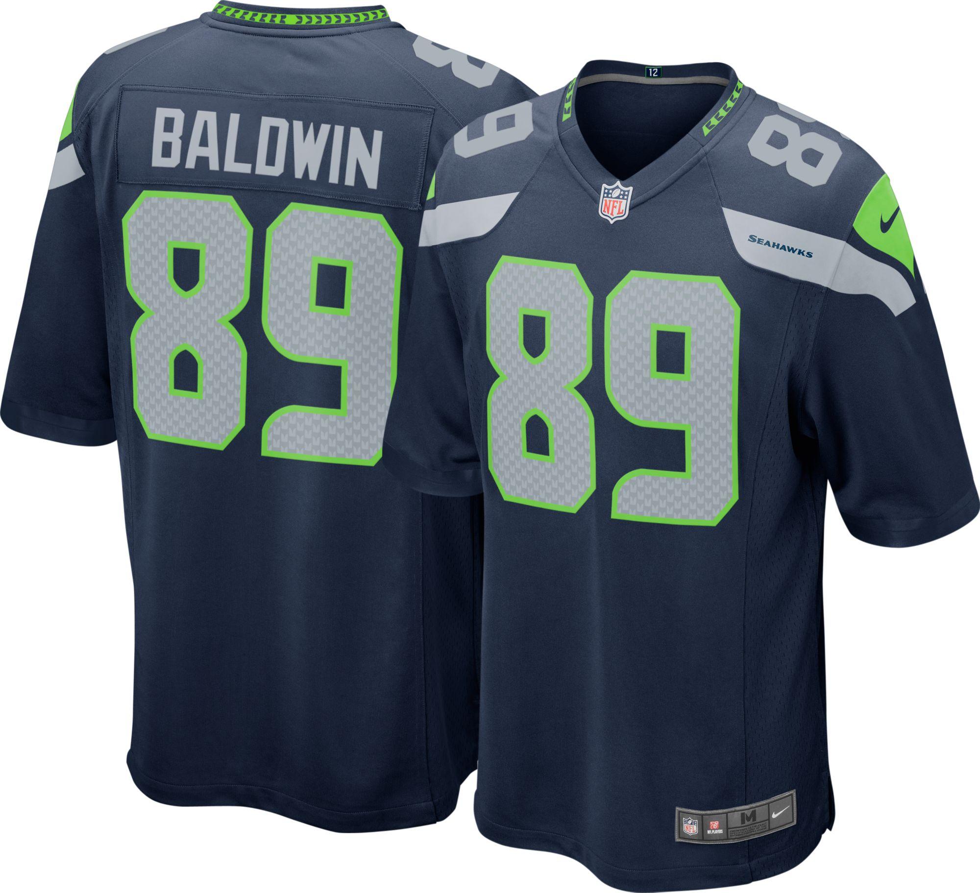 doug baldwin stitched jersey