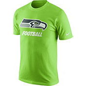 Nike Men's Seattle Seahawks Facility Green T-Shirt