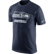 Nike Men's Seattle Seahawks Facility Navy T-Shirt