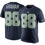 Nike Men's Seattle Seahawks Jimmy Graham #88 Pride Navy T-Shirt