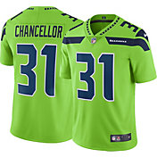 Nike Men's Color Rush 2017 Limited Jersey Seattle Seahawks Kam Chancellor #31