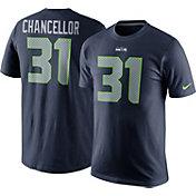 Nike Men's Seattle Seahawks Kam Chancellor #31 Pride Navy T-Shirt